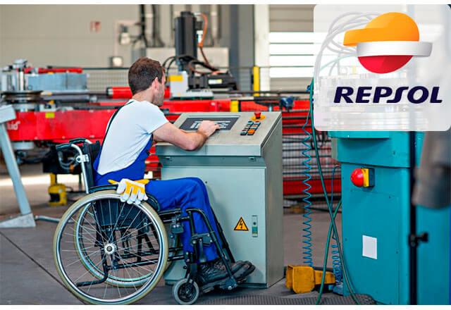 Trabajo discapacitados repsol