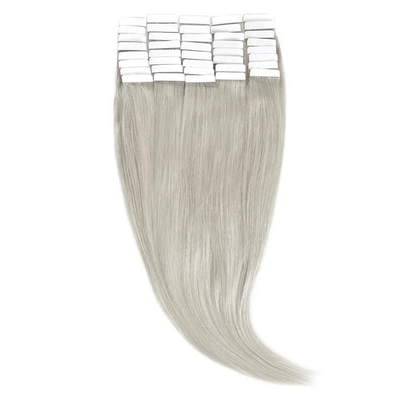 Tape-In Par Natural 50cm 40suv 100gr Blond Argintiu #SILVER