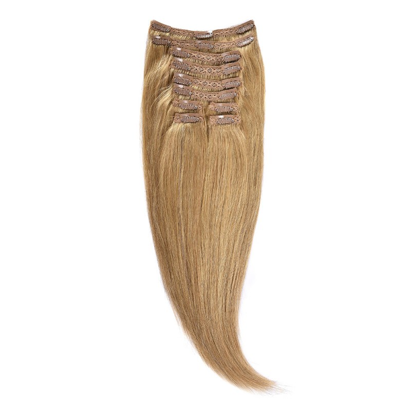 Clip-On Par Natural Volum 40cm 140gr Blond miere #27
