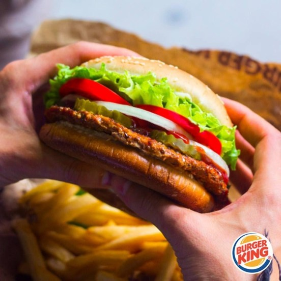 pickup and deliveries Burger King