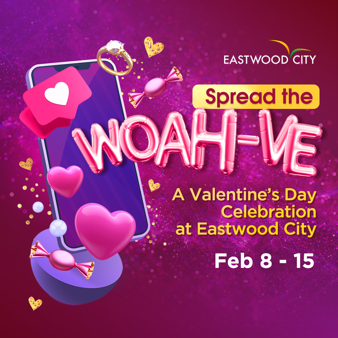 Valentine's Day At Eastwood City
