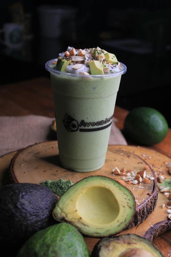 Beverage shop Avocadoria offers a lineup of drinks and treats with avocado as the star ingredient,