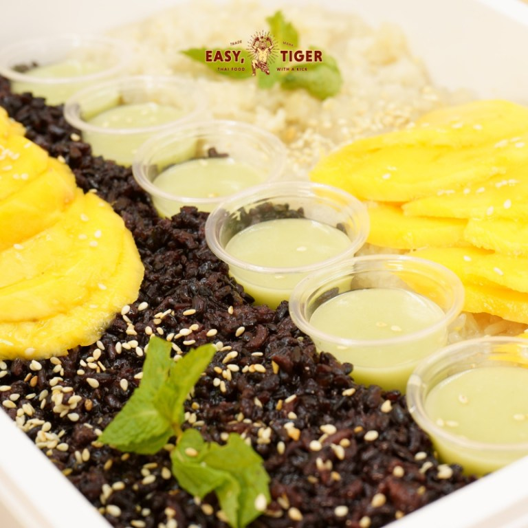 For dessert, go for the Classic Sticky Rice with Fresh Mangoes and Coconut Milk. This sweet treat will definitely make you want to visit The Land of Smiles soon.