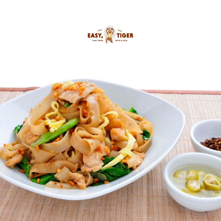 Order Pad See Ew or Thai Stir Fried Noodles for your main course. The aroma of this Thai favorite will make you hungry for more. It's sweet and nutty, and the noodles are cooked al dente.