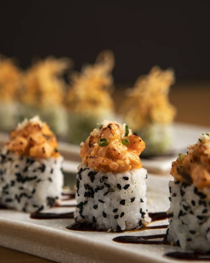 Spicy Salmon Roll from Ippudo