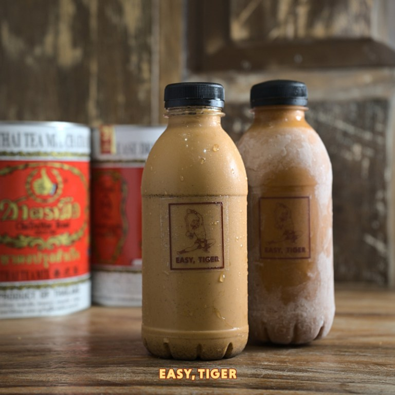 This list wouldn't be complete without the Thai Milk Tea. This iconic drink is made from black tea blended with condensed milk. Yum!
