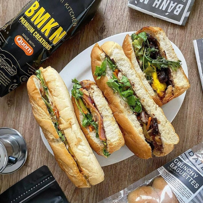 Order your healthy sandwiches from Bánh Mì. They have branches at Uptown Bonifacio and McKinley West.