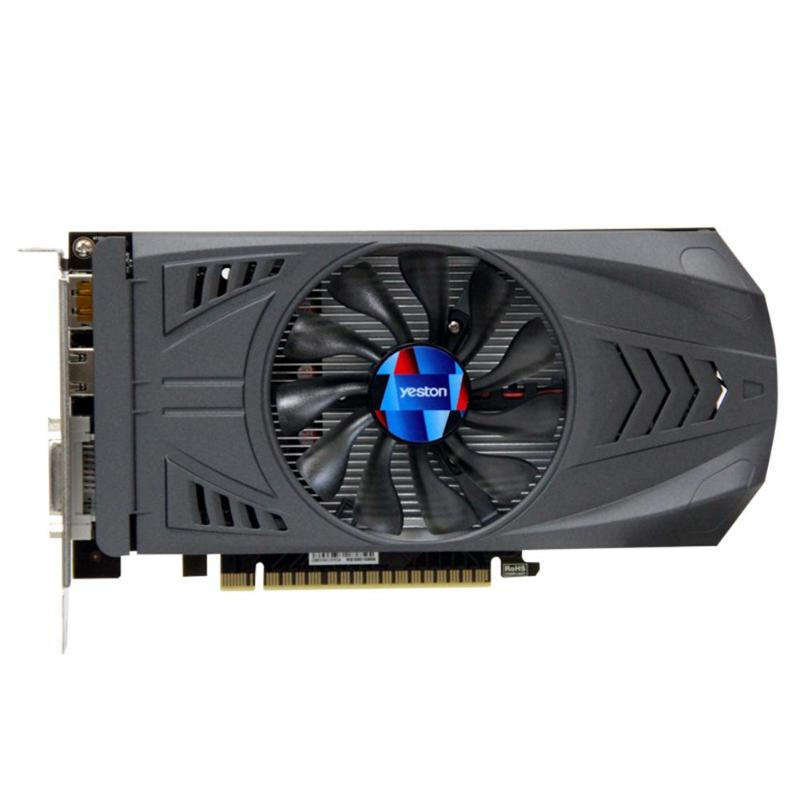 Yeston GTX 1050 Ti NVIDIA Graphics Card GTX 1050Ti Extreme Edition GPU 4GB  GDDR5 128bit PCI-E 16 3 0 PC Gaming Video Card 16nm