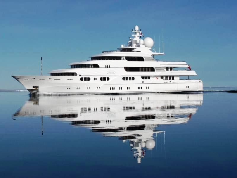 Titania super yacht