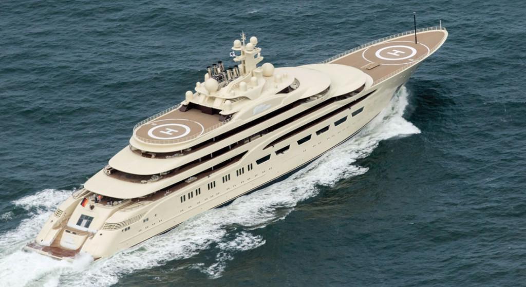 dilbar largest yacht