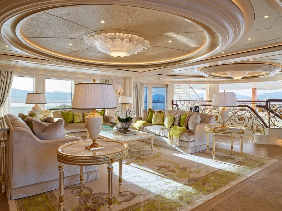 mega yacht enterior design