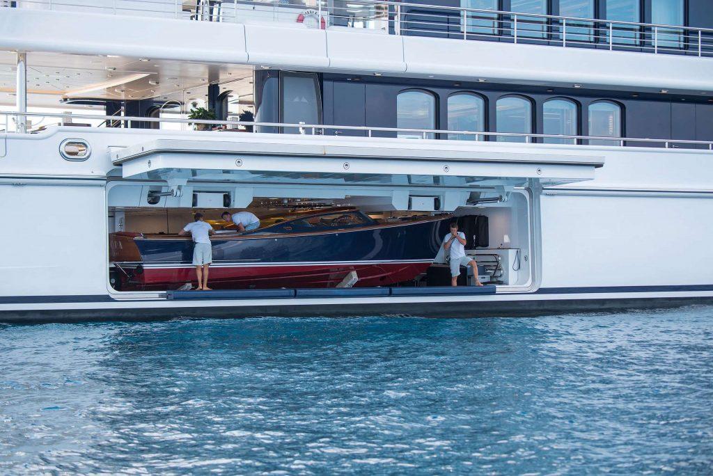 Aurora yacht tender