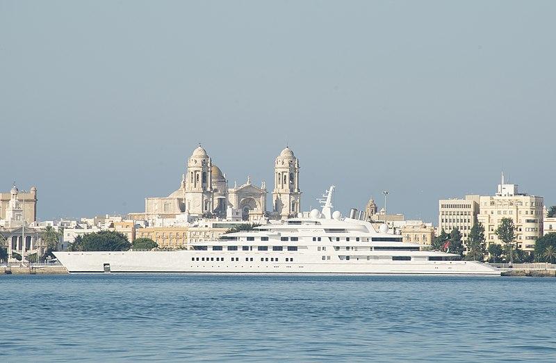 azzam docked port of cadiz spain august 2020