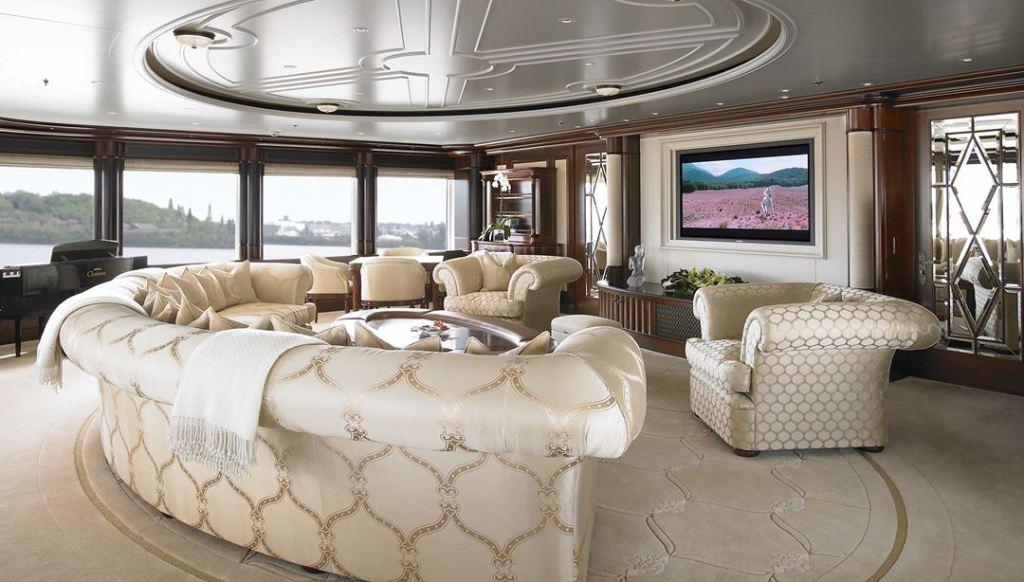 Luxury yacht Anna interior