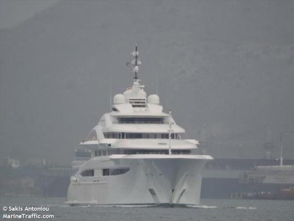 Super yacht Maryah