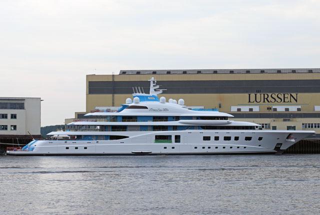 Project Quantum Blue Launches At Lrssen Megayacht News