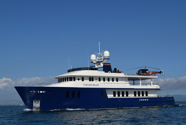 The Big Blue A Familys Megayacht Adventures Megayacht News