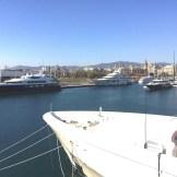 Marina Port Vell marina view from Gallery