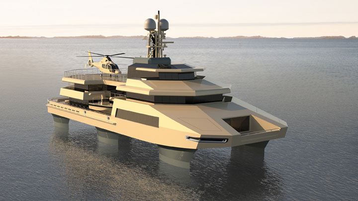 Hummer Of The Seas From Danish Yachts Megayacht News