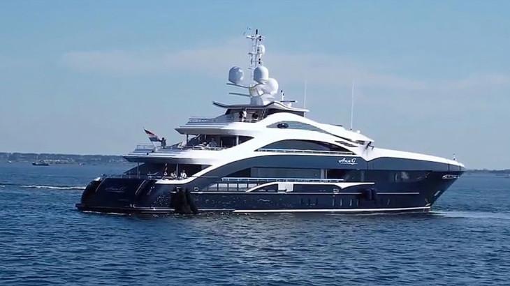 VIDEO Ann G By Heesen Yachts On Sea Trials Megayacht News