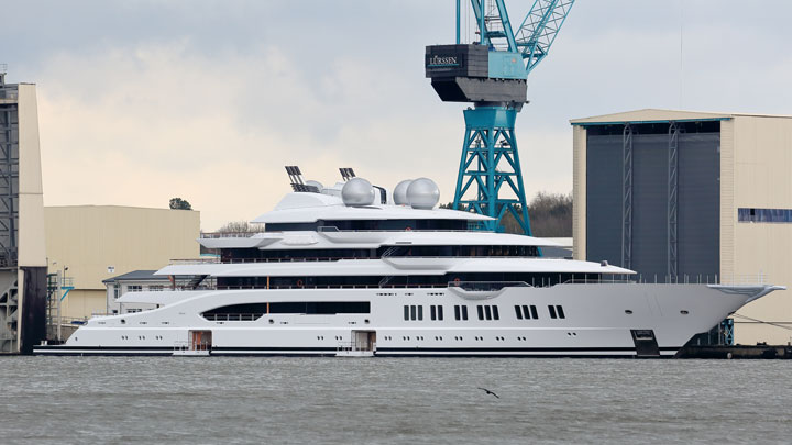 Project Mistral Coming From Lrssen Megayacht News