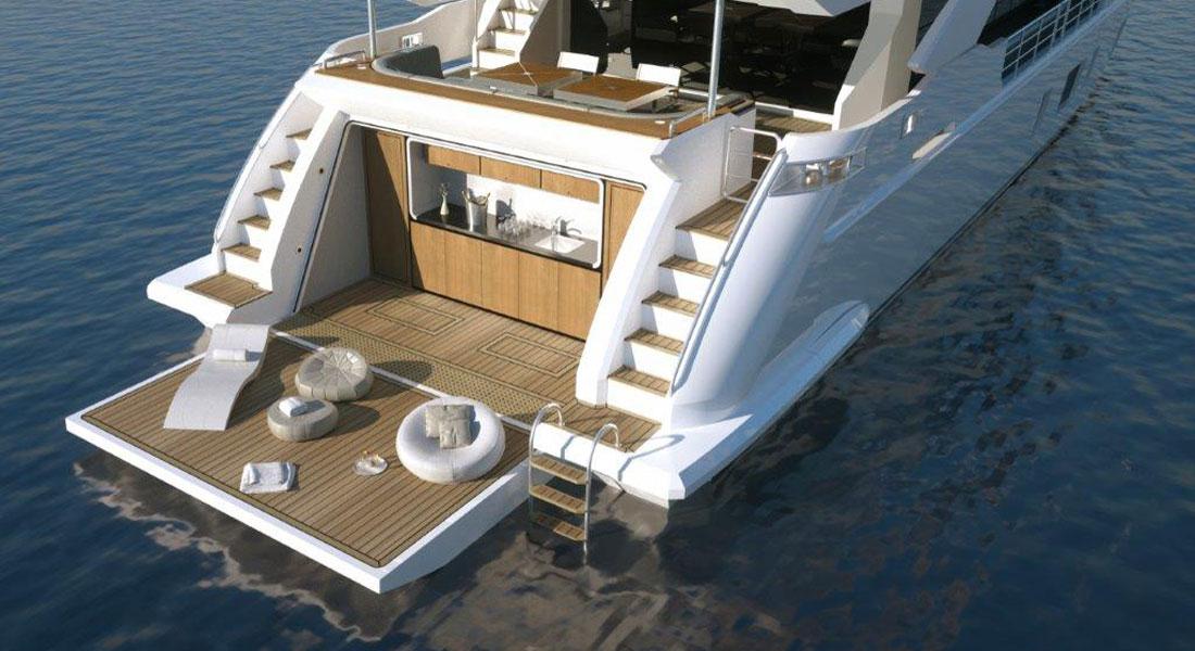 Azimut Grande 35 Metri Approaching Debut Megayacht News