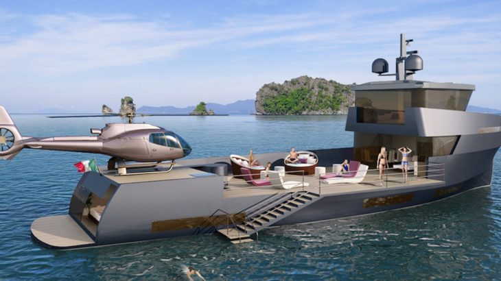 Naucrates 85 Small But Mighty Support Yacht Megayacht News