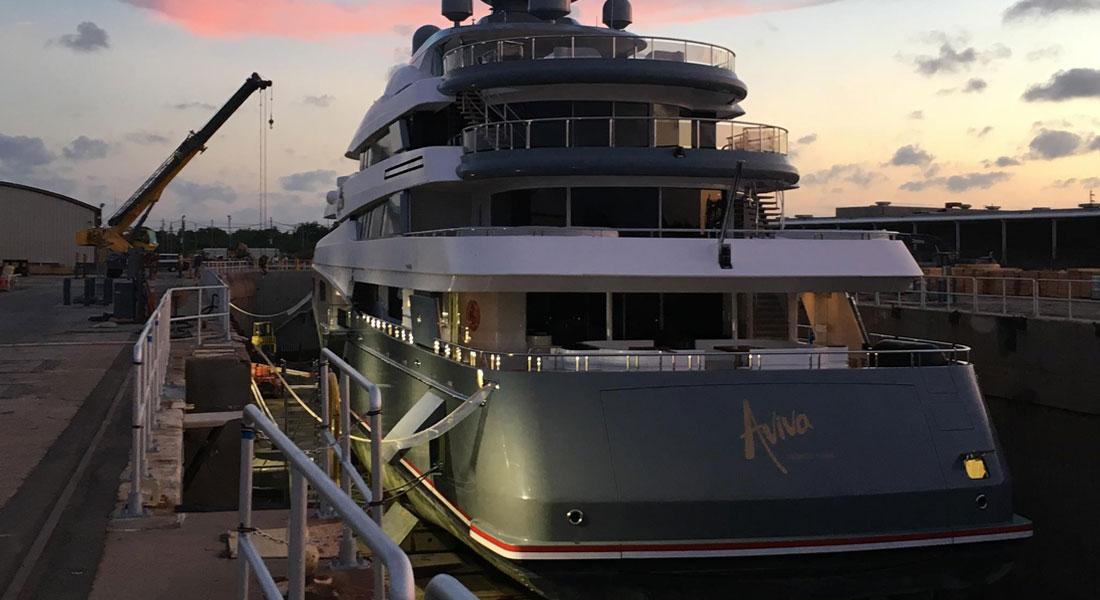 Aviva Inaugurates Savannah Yacht Center Dry Dock
