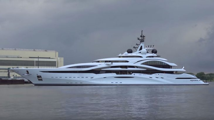 See Superyacht Al Lusail Spin On A Dime VIDEO Megayacht