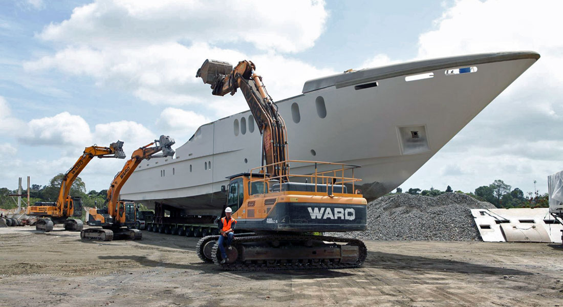 Last Sensation Yachts Superyacht Up For Salvage