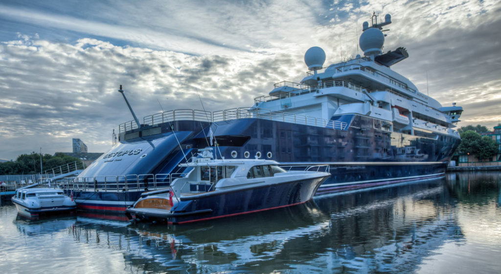 Paul Allen 1953 2018 Megayacht News