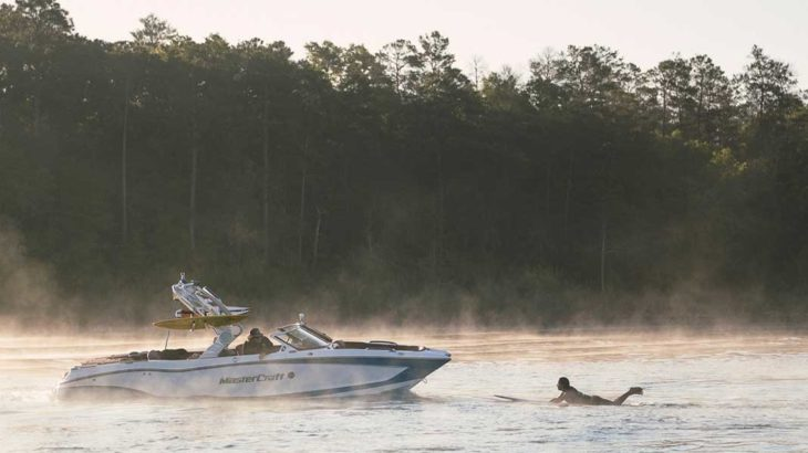 MasterCraft X24 For Wake Surfing Superyacht Guests