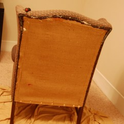 How To Diy Reupholster A Chair Aeron Drafting Stool Wingback Project Aholic