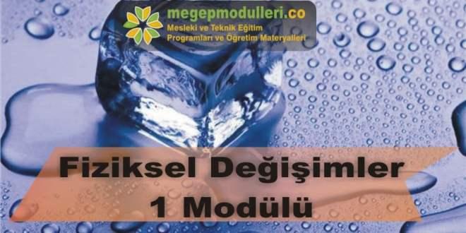 fiziksel degisimler 1 modulu