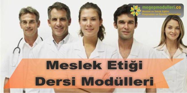 meslek etigi dersi megep modulleri