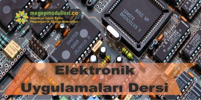 elektronik uygulamalari dersi megep