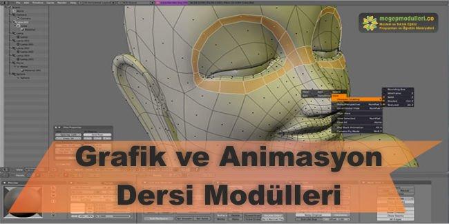 grafik ve animasyon dersi modulleri