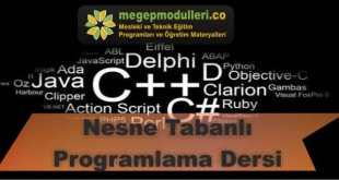 nesne tabanli programlama dersi modulleri
