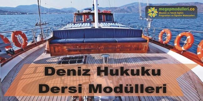deniz hukuku dersi modulleri