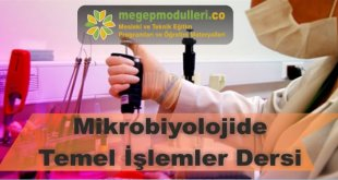 mikrobiyolojide temel islemler
