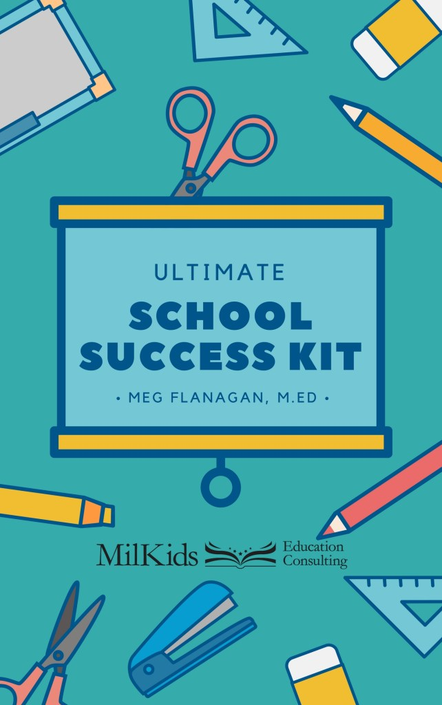 Learn how to succeed in school with an easy FREE guide from MilKids Ed!