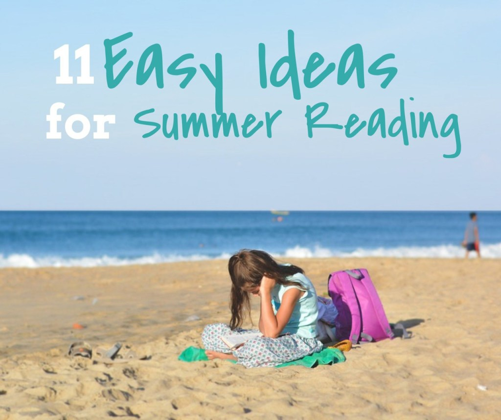 Make summer reading super simple with easy activity ideas for kids!