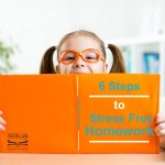 Make homework stress free with a 6 step homework guide for busy parents