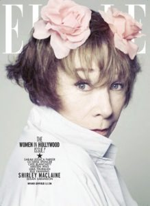 Shirley Maclaine styled by Meg Gallagher