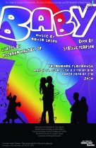 The poster for the play Baby 2010