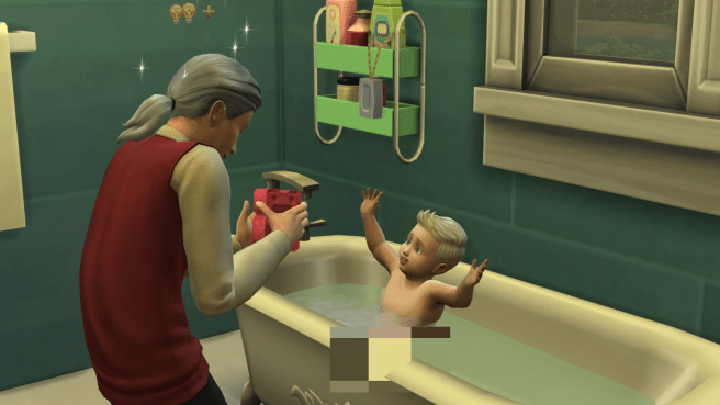 Ryu being adorable in the bath (ugh!)