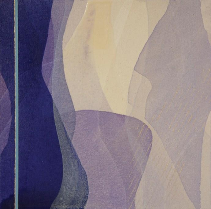 "Oh Glorious Day, Acrylic on Canvas, 12 x 12"", 2013"