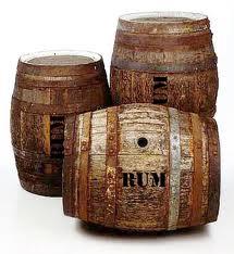 rum casks