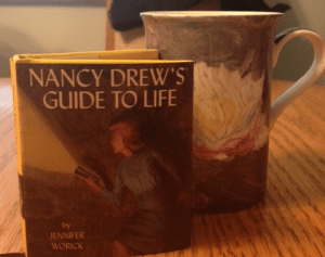 mini nancy drew book