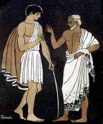 Telemachus with Mentor